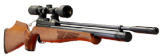 Air Arms S400 Classic Precharged PCP Air Rifle - Beech